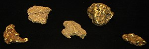Fairplay, Colorado - Gold nuggets found near Fairplay