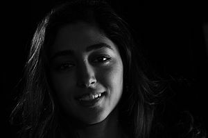 Golshifteh Farahani - Golshifteh Farahani during an interview with BBC Persian
