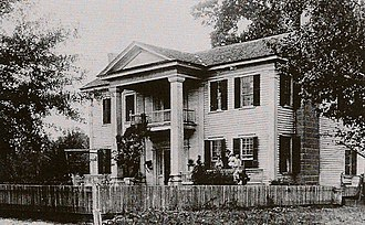 National Register of Historic Places listings in Coweta County, Georgia - Image: Goodwyn House ca. 1890s