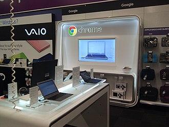 Chrome Zone - Google Chrome Store at PC World, New Malden