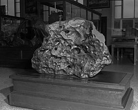 Goose Lake Meteorite on Exhibit.jpg