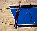 Goran Dragić warmup at Suns vs Magic 2010.jpg