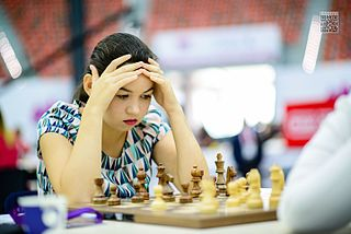 Aleksandra Goryachkina Russian chess player