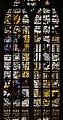 Gouda, st. janskerk, vetrata 07 fondazione del tempio di salomone e ultima cena, di Dirck Pietersz. Crabeth, 1557, 02.jpg