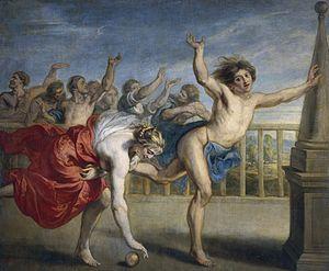 Jacob Peter Gowy - Hippomenes and Atalanta