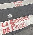 """Graffiti """"La Commune de Paris"""" Clermont Ferrand 2019.jpg"""