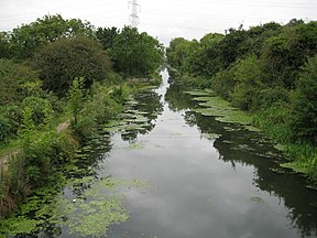 Grand Union Canal (Slough Arm) near Cowley (2) - geograph.org.uk - 941508.jpg
