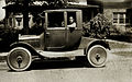 Grandpa's first car, Model T coupe,with artillery wheels Edward a O'D.jpg
