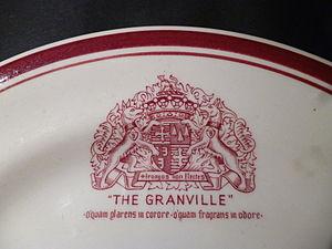The Granville Hotel, Ramsgate - Granville Hotel crest of arms.