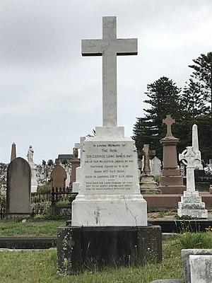 Joseph Innes - Innes grave at Waverley Cemetery.