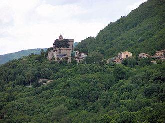 Greccio - Image: Greccio village