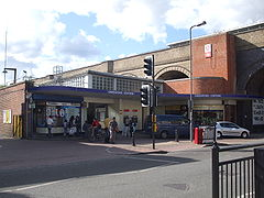 Greenford station entrance.JPG