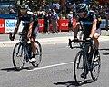 Greg Henderson and Chris Sutton, Team Sky - Stage 6, 2010 Tour Down Under.jpg