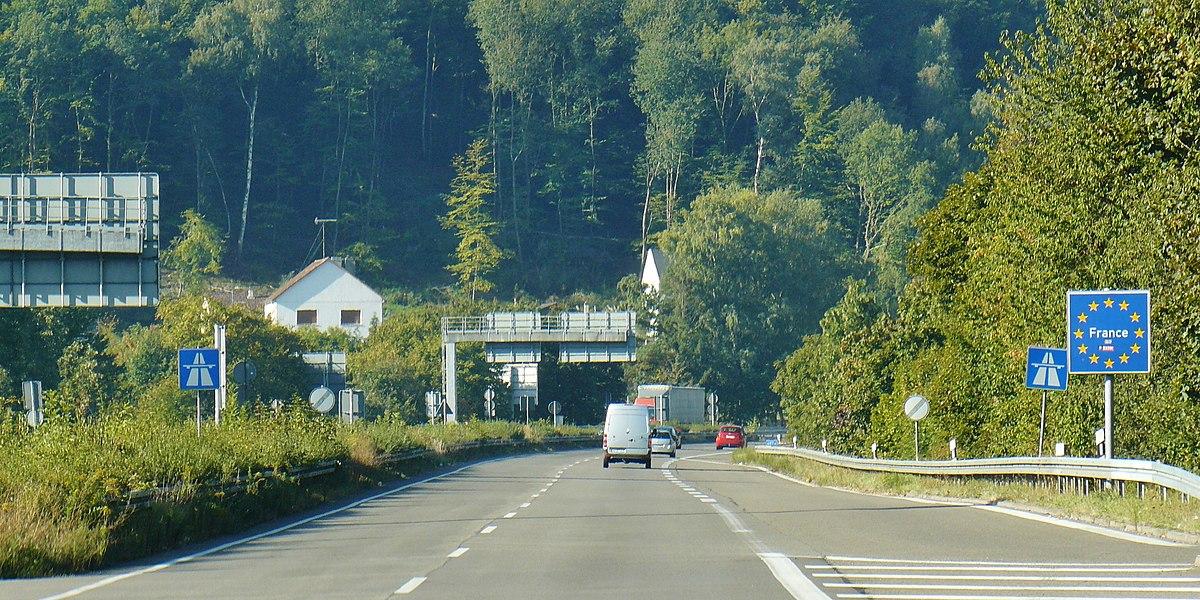 Grenzübergang Frankreich / Deutschland
