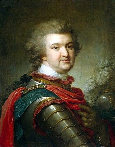 Потемкин незадолго до смерти, апрель 1791 года