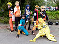 Group Portrait of Naruto Cosplayers at CWT40 20150809.jpg