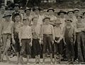 Group of young workers in Clifton Mills South Carolina by Lewis Hine.jpeg