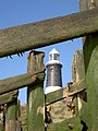 Groynes and Lighthouse at Spurn - geograph.org.uk - 238276.jpg