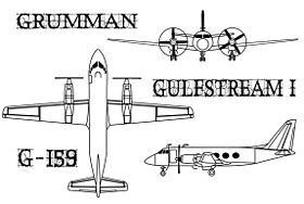 Image illustrative de l'article Grumman Gulfstream I