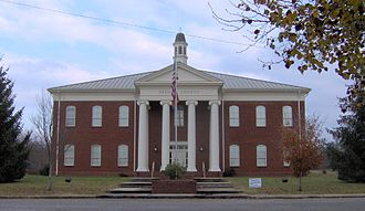 Grundy County, Tennessee - Image: Grundy county courthouse tn 2