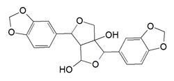 Kemia strukturo de gumadiol