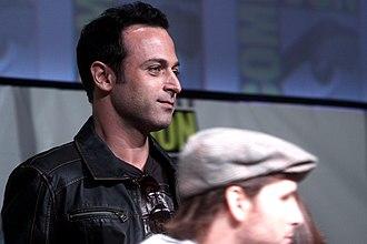 Guri Weinberg - Guri Weinberg speaking at the San Diego Comic-Con International in San Diego, California in 2012.
