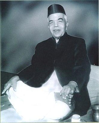 Gwalior gharana - Image: Gururao Deshpande 1