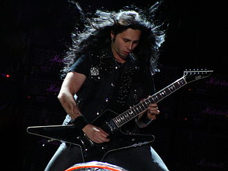 Gus G - Gus G. performing with Ozzy.