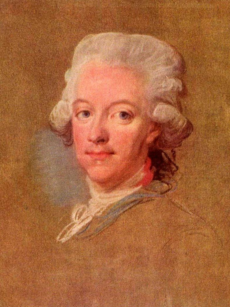 Gustav III of Sweden c 1785 by Lorens Pasch the Younger