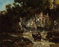 Gustave Courbet - Landscape with stag - Google Art Project.jpg