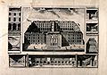 Guy's Hospital, Southwark; an aerial view, with smaller scen Wellcome V0013695.jpg