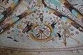 Härkeberga kyrka väggmålning vapenhuset livetshjul.JPG