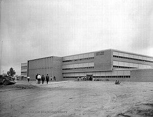 Henry Ford High School (Detroit, Michigan) - Image: HFHS 1957