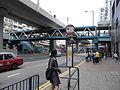 HK Kwun Tong Road 觀塘道 KMBus Stop 89D near Yue Man Square Tung Yan Street footbridge.JPG