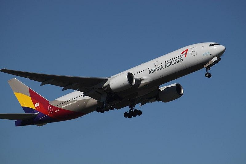 파일:HL7756 Boeing 777 Asiana Airlines (7170391225).jpg
