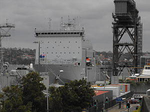 HMAS Choules Port Bow.jpg