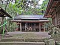 Haiden of Kashima Amatarashiwake-jinja shrine 2.JPG