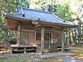 Haiden of Takakura-jinja shrine in Haramachi ward 1.JPG
