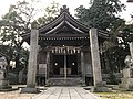 Haiden of Uchino Oimatsu Shrine.jpg