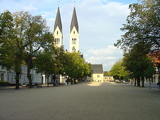 Halberstadt - Cathedral square