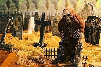 Geography of Halloween - Halloween display in Sydney, Australia.