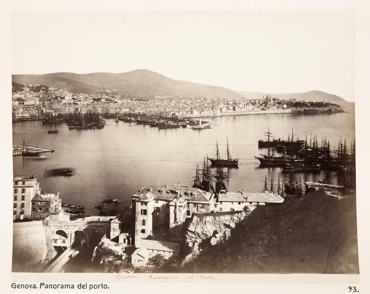 File:Hamnen i Genua - Hallwylska museet - 107411.tif