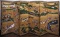 Hanabusa ippoo, coppia di paraventi con scene di caccia, 1730-60 ca. 01.jpg