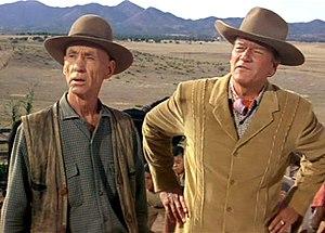 Hank Worden - Worden and John Wayne in McLintock! (1963)