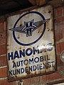 Hanomag Werbeschild, Fahrzeugmuseum Marxzell.JPG