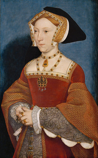 Juana Seymour por Hans Holbein.