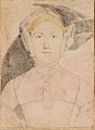 Hans Holbein the Younger - An unidentified woman RL 12257.jpg