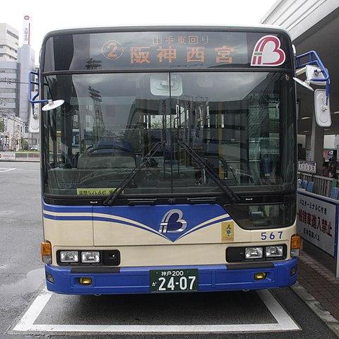 バス 路線 図 阪神