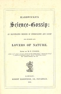 <i>Science-Gossip</i> journal