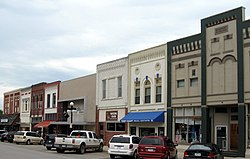 Harlan, Iowa's downtown